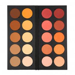 Palette 10 Blushes 10 Modeling